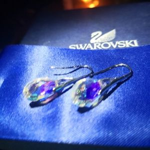 Earrings.New!With Swarovski Critical elements.